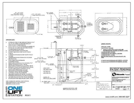 patent one lift station